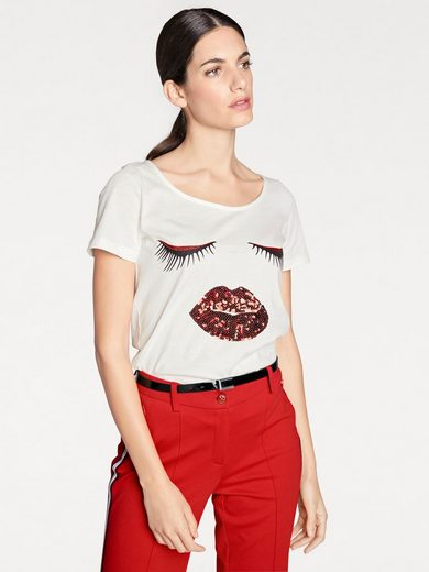 RICK CARDONA by Heine Shirt mit Pailetten