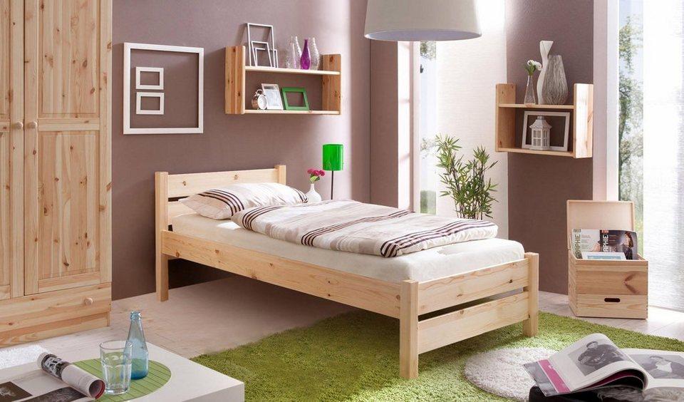 ticaa bett bora in diversen breiten kiefer otto. Black Bedroom Furniture Sets. Home Design Ideas