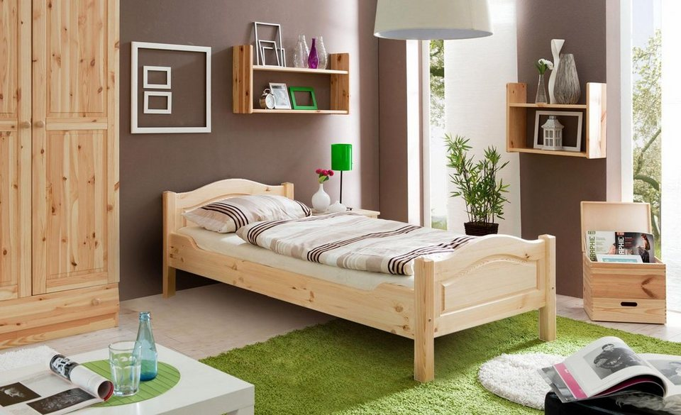 ticaa bett rita in diversen breiten kiefer otto. Black Bedroom Furniture Sets. Home Design Ideas
