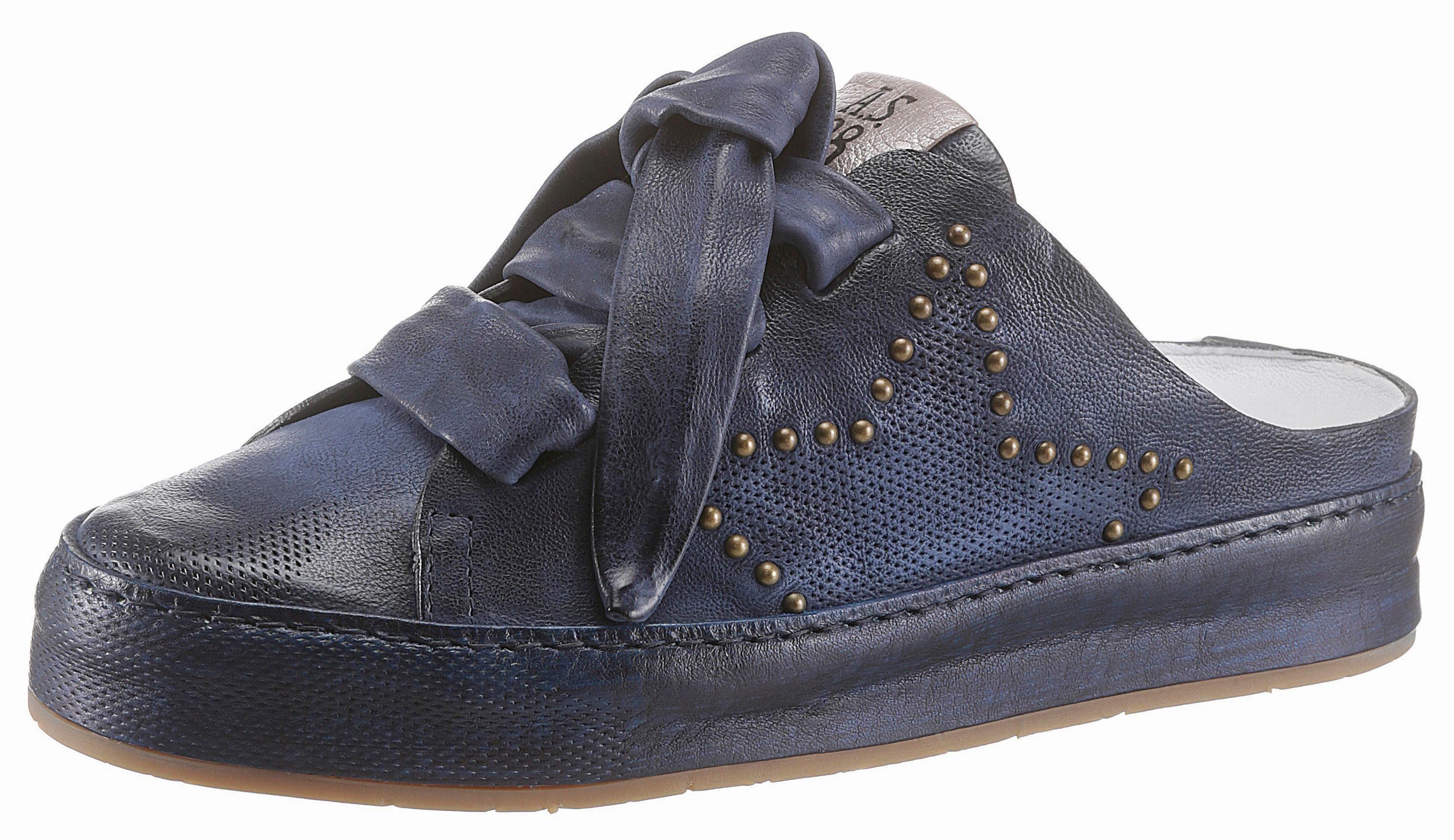 AS98 Clog, im angesagten Used Look online kaufen  blau