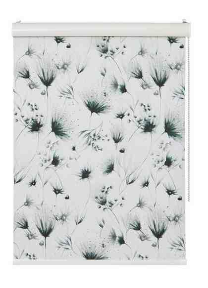 Seitenzugrollo »Pencil Flowers«, Guido Maria Kretschmer Home&Living, verdunkelnd, ohne Bohren, im Fixmaß