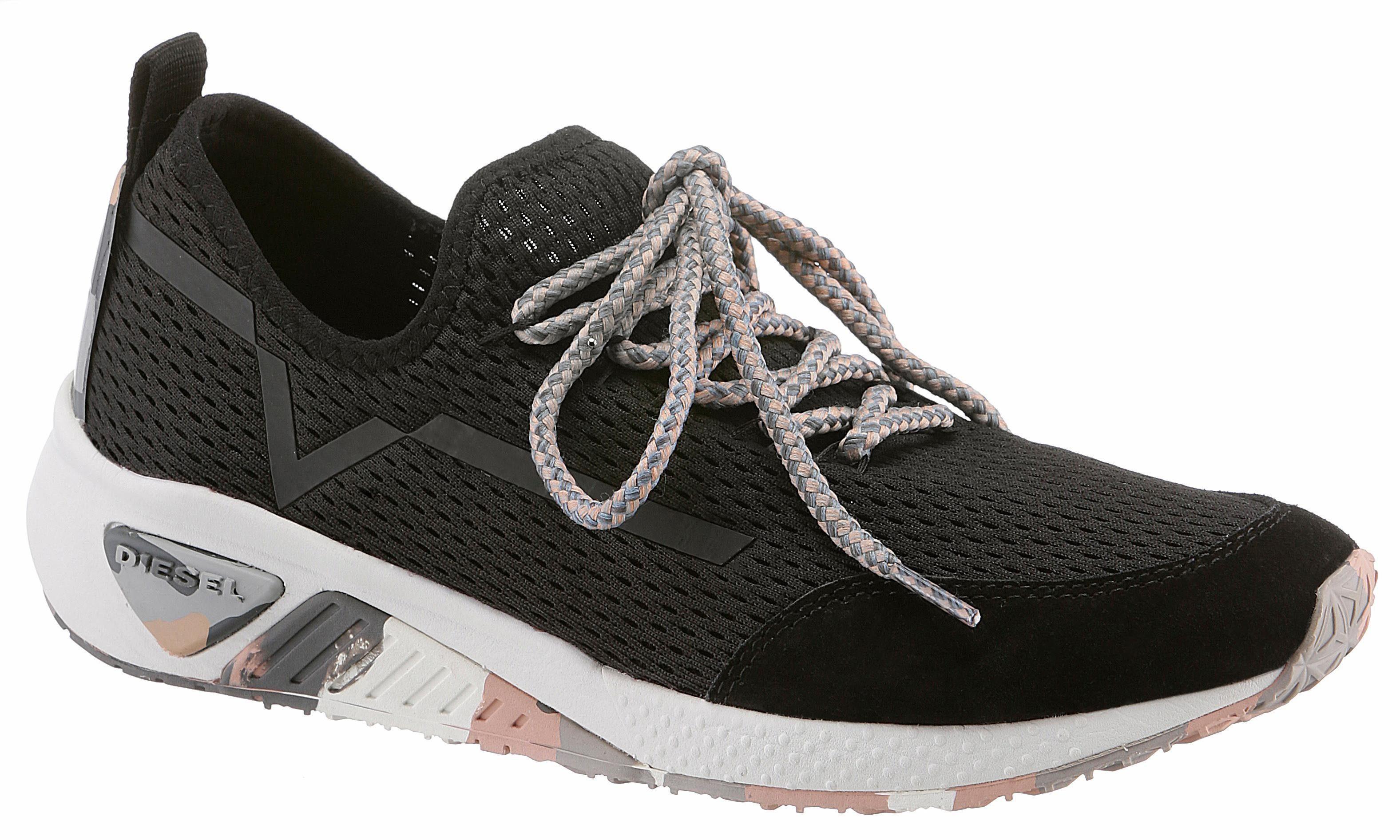 Diesel SKB S-KBY Sneaker, mit luftigem Lochmuster online kaufen  schwarz