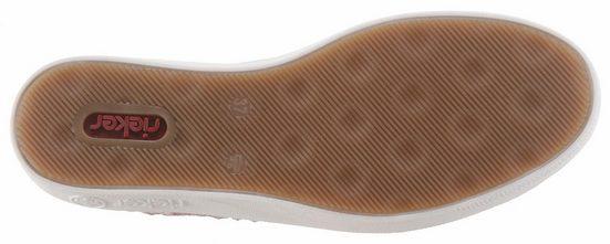 Rieker Sneaker, mit toller Häkel-Applikation