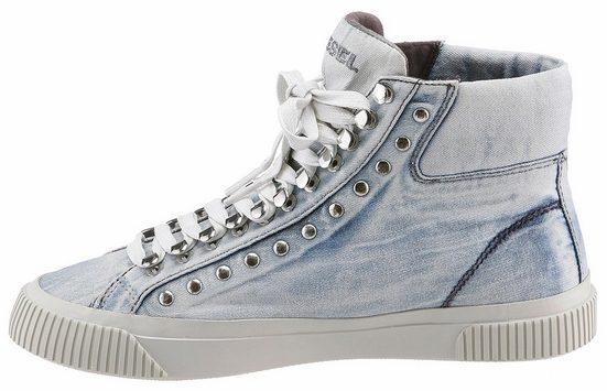 Diesel S-Mustave MC W Sneaker, in lässigem Used-Style