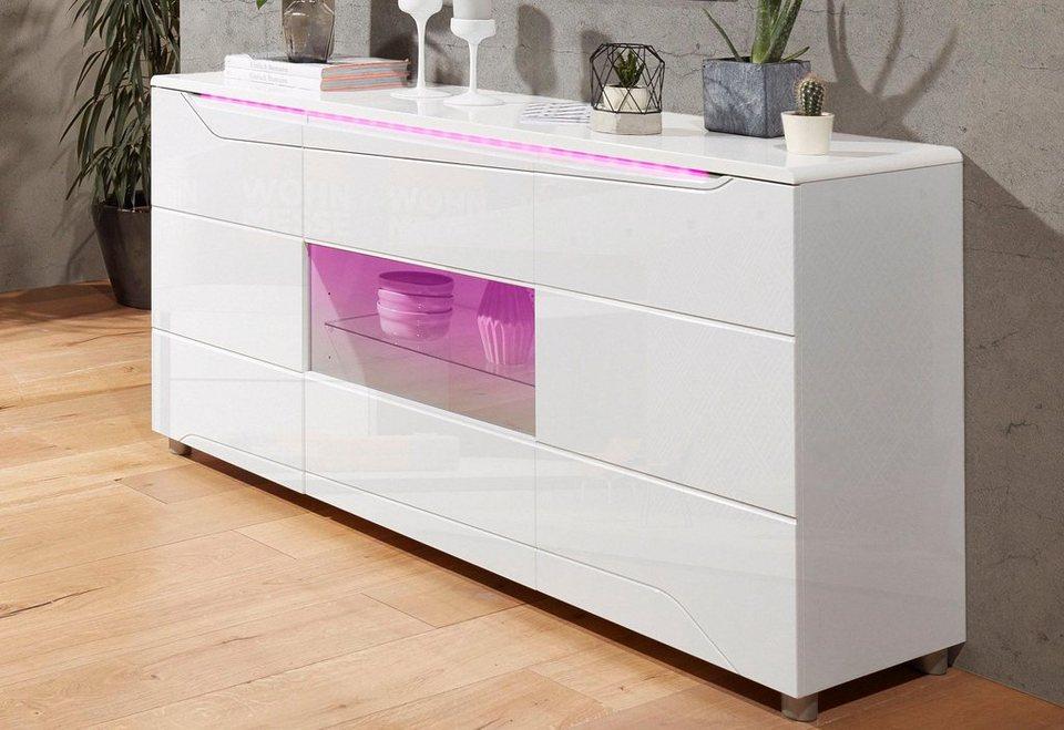 sideboard breite 155 cm online kaufen otto. Black Bedroom Furniture Sets. Home Design Ideas