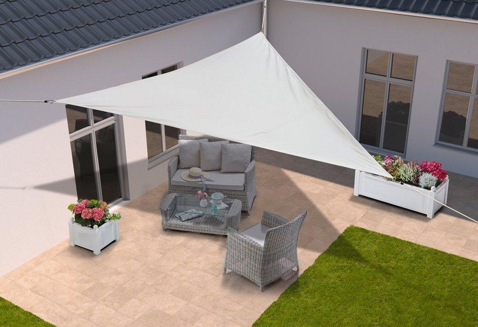 konifera sonnensegel dreieck 360x360x360 cm in 4 farben online kaufen otto. Black Bedroom Furniture Sets. Home Design Ideas
