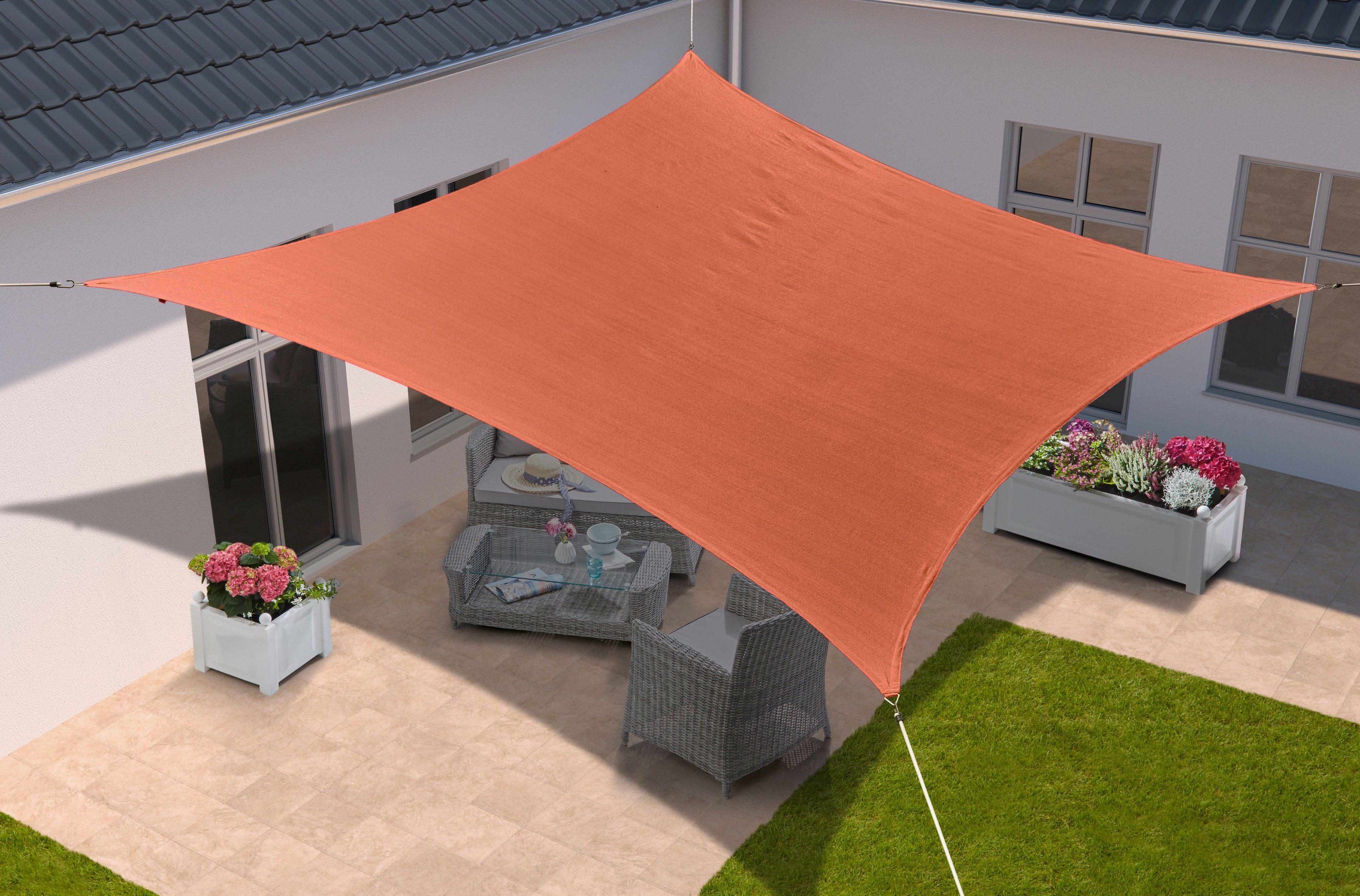 KONIFERA Sonnensegel »Viereck«, 400x500 cm, in 2 Farben