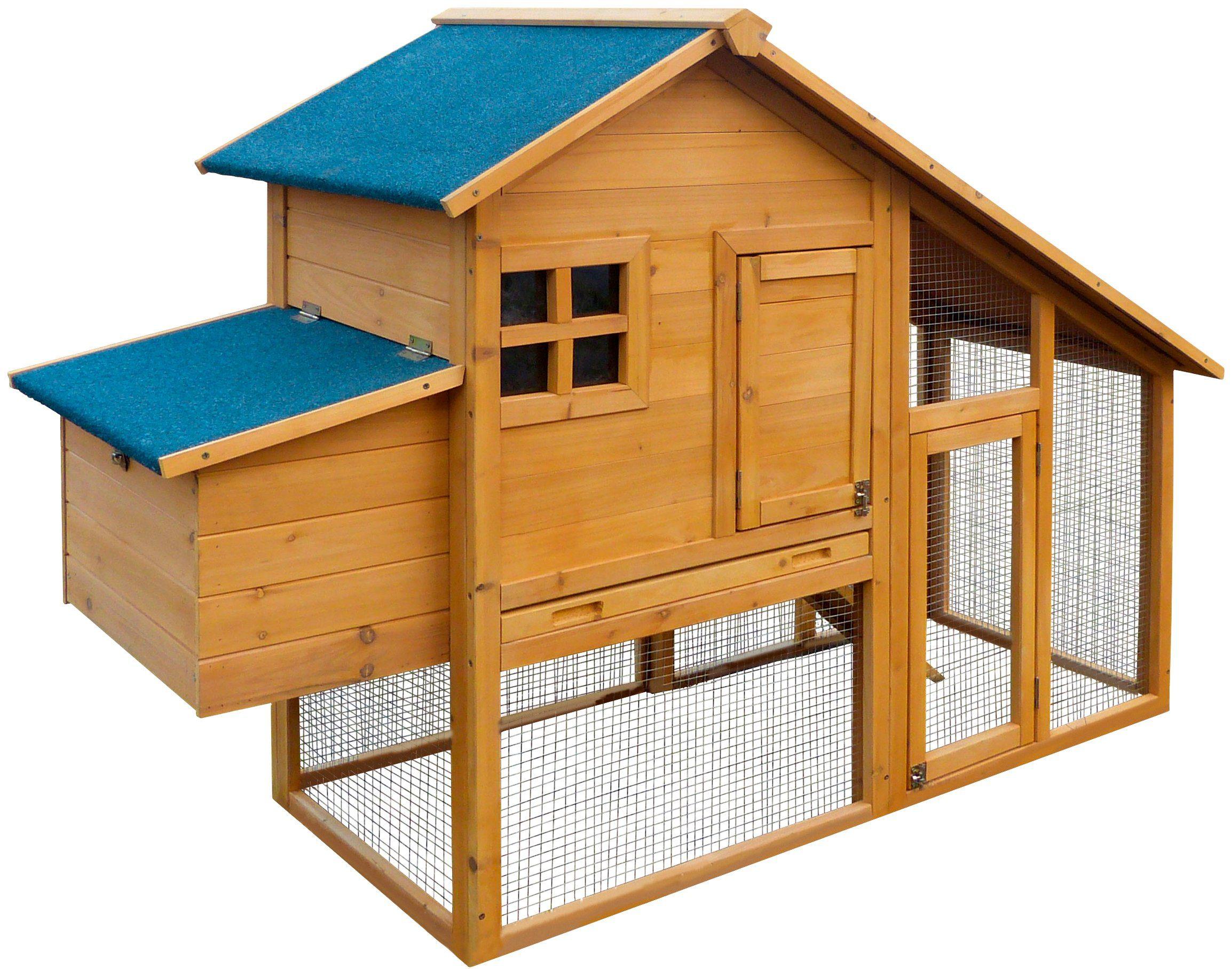 Fußboden Im Hühnerstall ~ Dobar hühnerstall bxtxh cm mit freilaufgehege