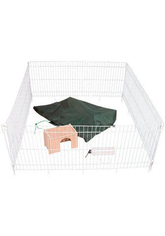 DOBAR Клетка для кролика BxTxH: 1195x1195x52...