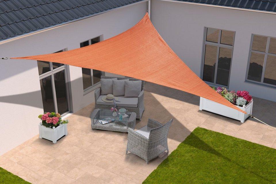 konifera sonnensegel dreieck 300x300x300 cm in 2 farben online kaufen otto. Black Bedroom Furniture Sets. Home Design Ideas