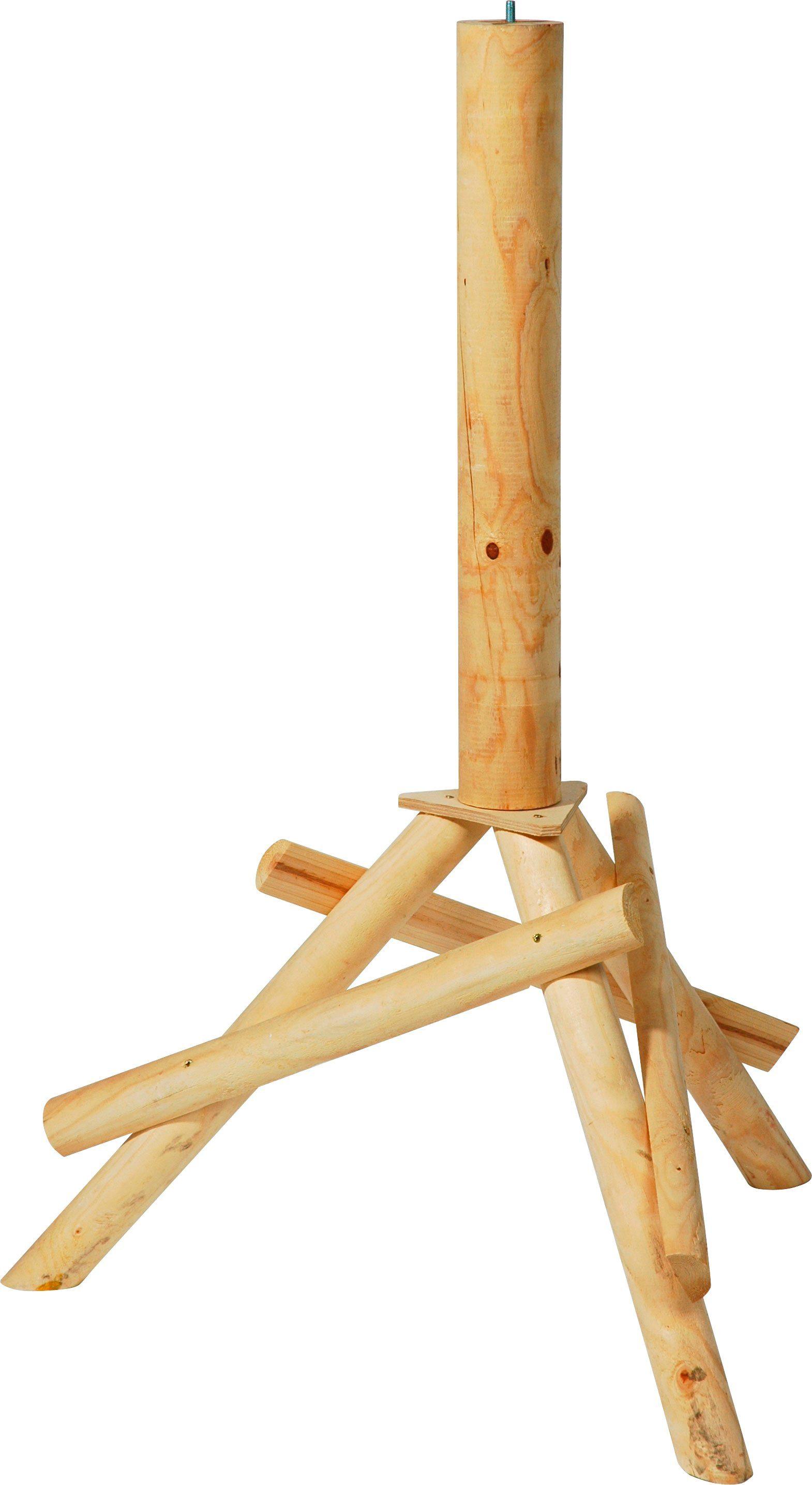 DOBAR Vogelhaus-Ständer , BxTxH: 65x60x100 cm, braun