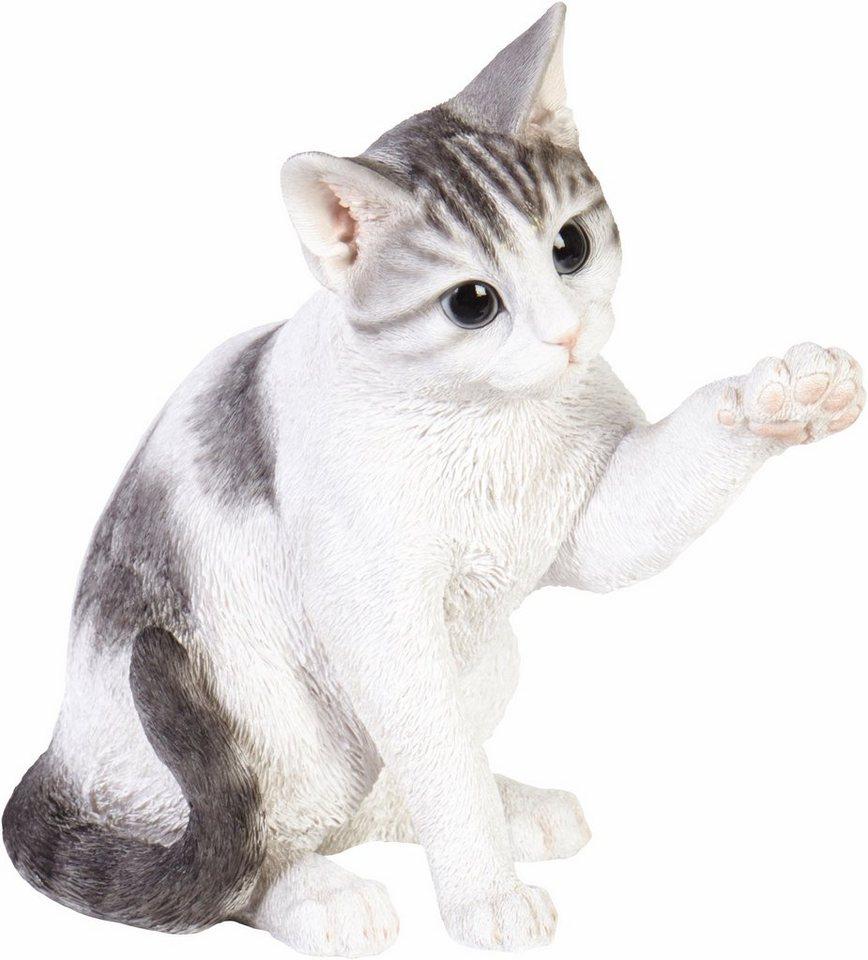 Home affaire Dekofigur »Katze, rechte Pfote oben, 31x19x32 cm ...