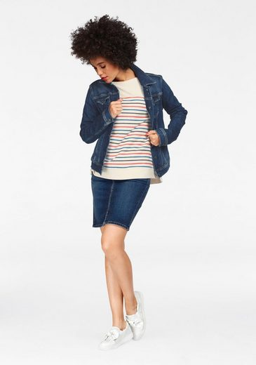 Pepe Jeans Jeansjacke THRIFT, mit Stretch-Anteil