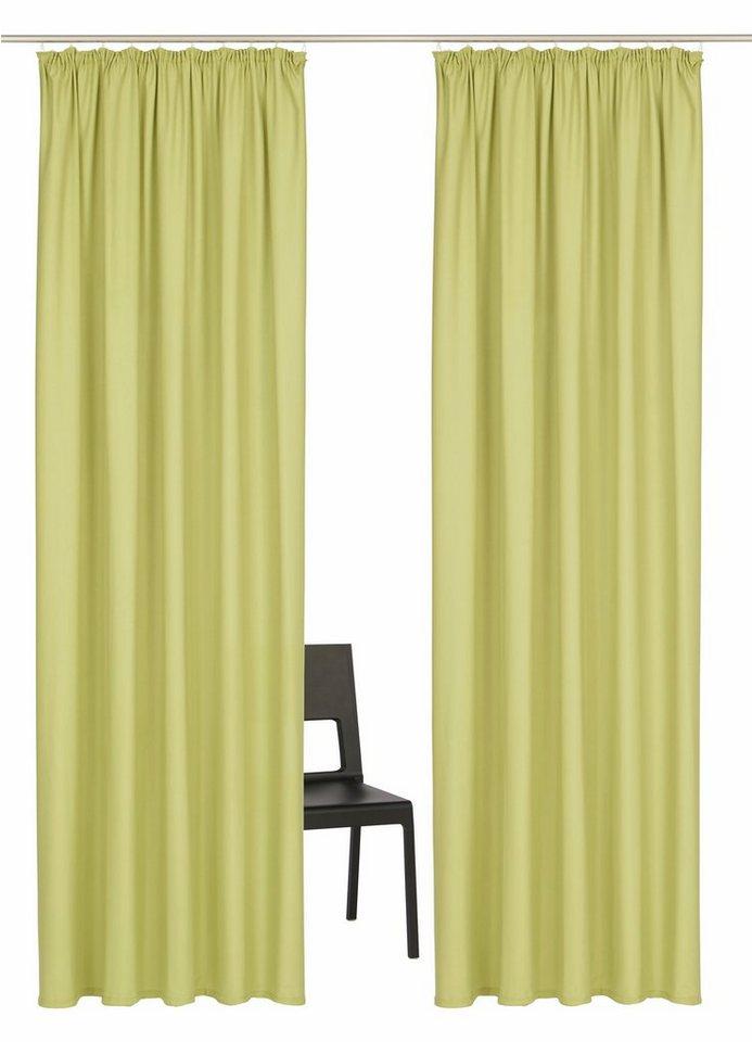 vorhang home affaire collection parry mit kr uselband 2 st ck online kaufen otto. Black Bedroom Furniture Sets. Home Design Ideas