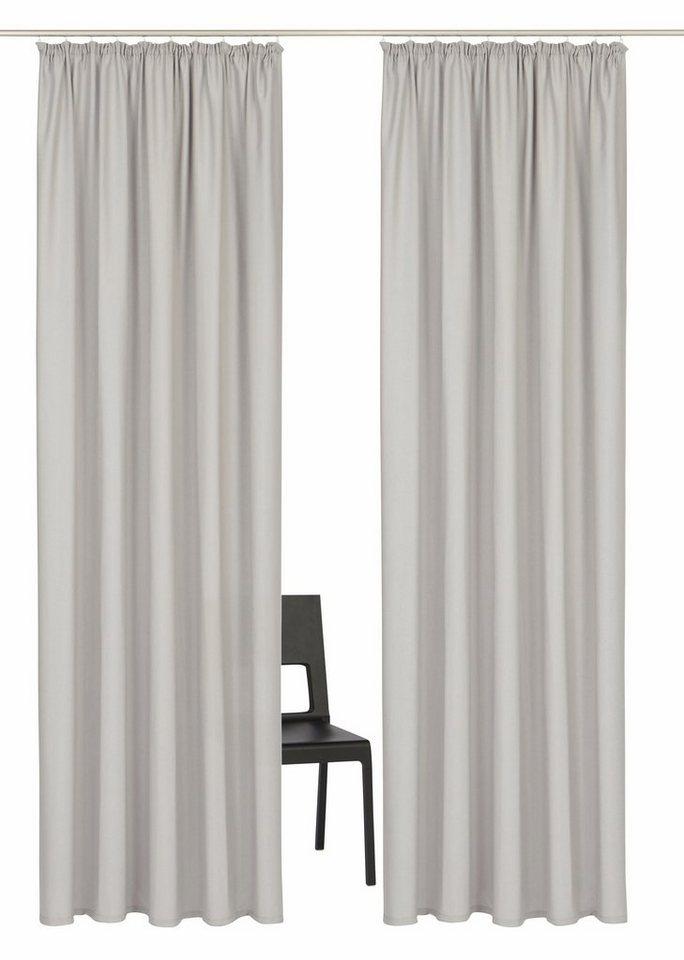 vorhang parry home affaire collection kr uselband 2 st ck online kaufen otto. Black Bedroom Furniture Sets. Home Design Ideas