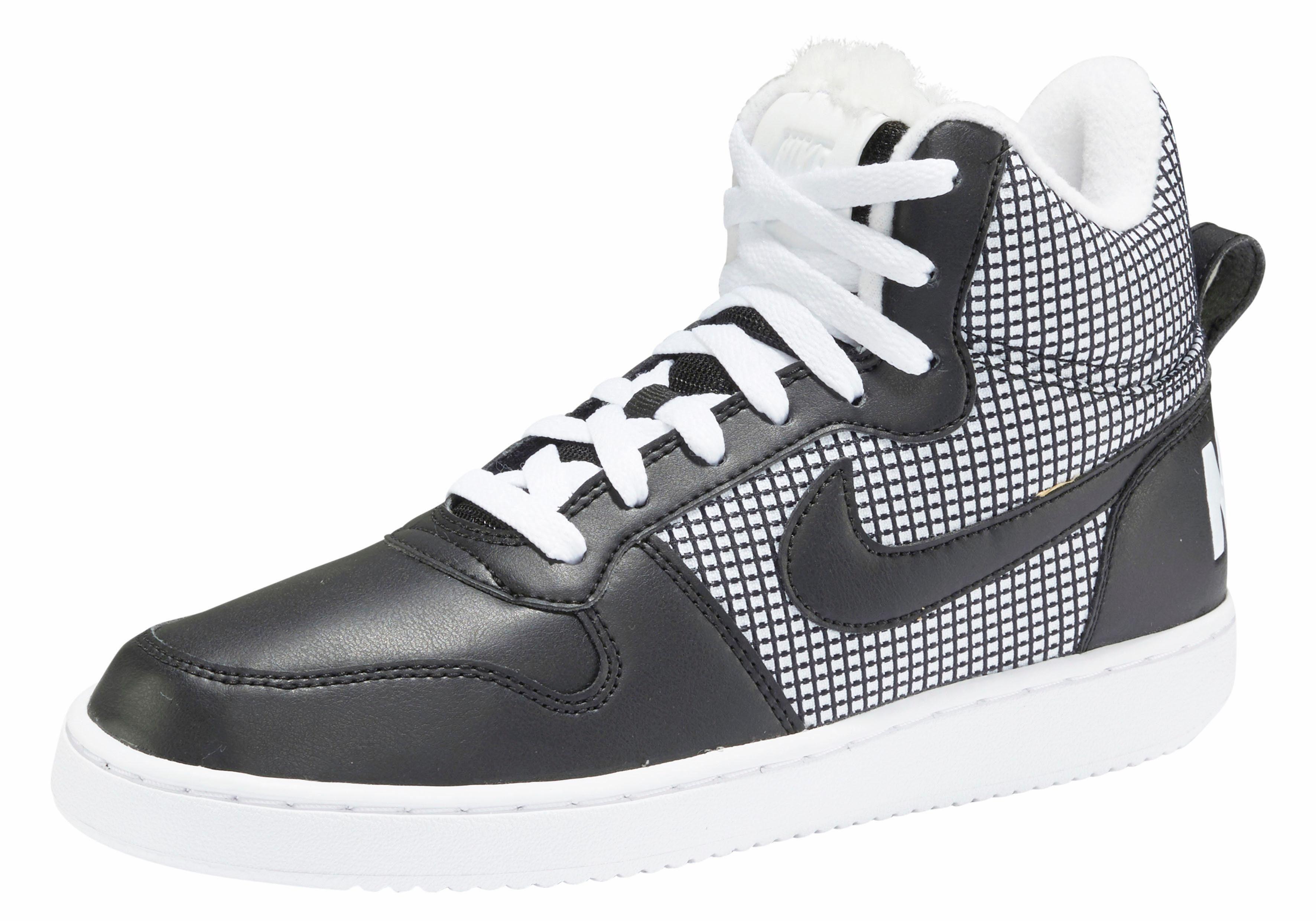 Nike Sportswear Wmns Court Borough Mid SE Sneaker online kaufen  schwarz-weiß