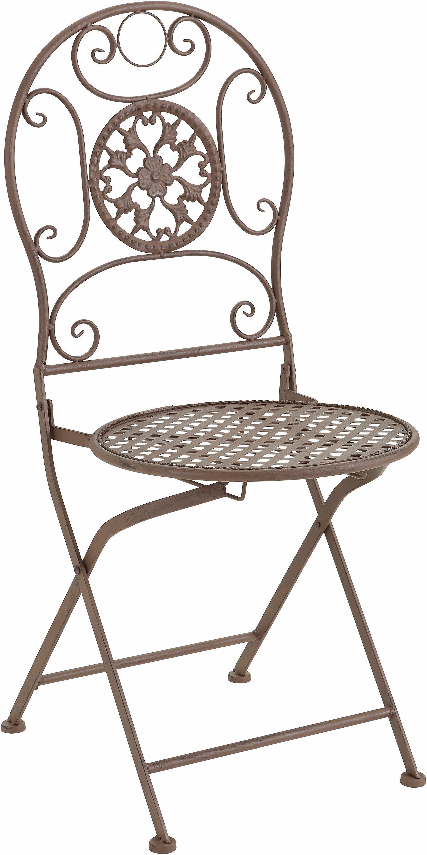 Home affaire Balkonstuhl aus Metall | Garten > Balkon > Balkonstühle | Home affaire