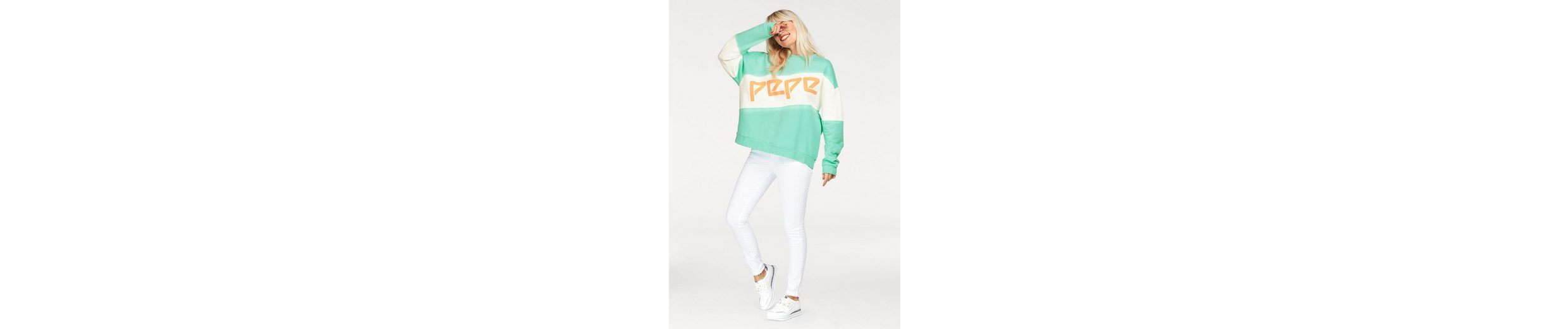 Pepe Jeans Sweatshirt ANGELA, in Oversized-Look
