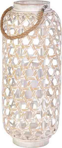 Home affaire Laterne »Bambus und Glas«