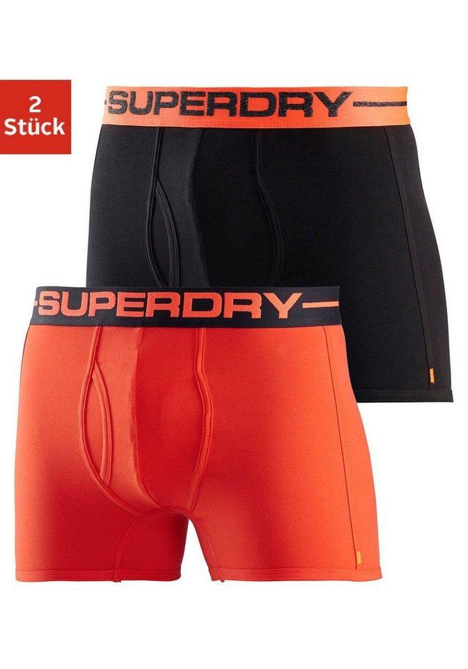894d03a213bb81 Superdry Boxershorts (2 Stück), mit Eingriff | OTTO