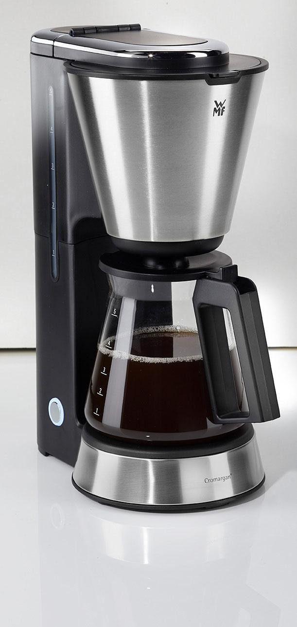 WMF Filterkaffeemaschine WMF KÜCHENminis® Aroma Kaffeemaschine Glas, 0,65l Kaffeekanne, Papierfilter 1x2