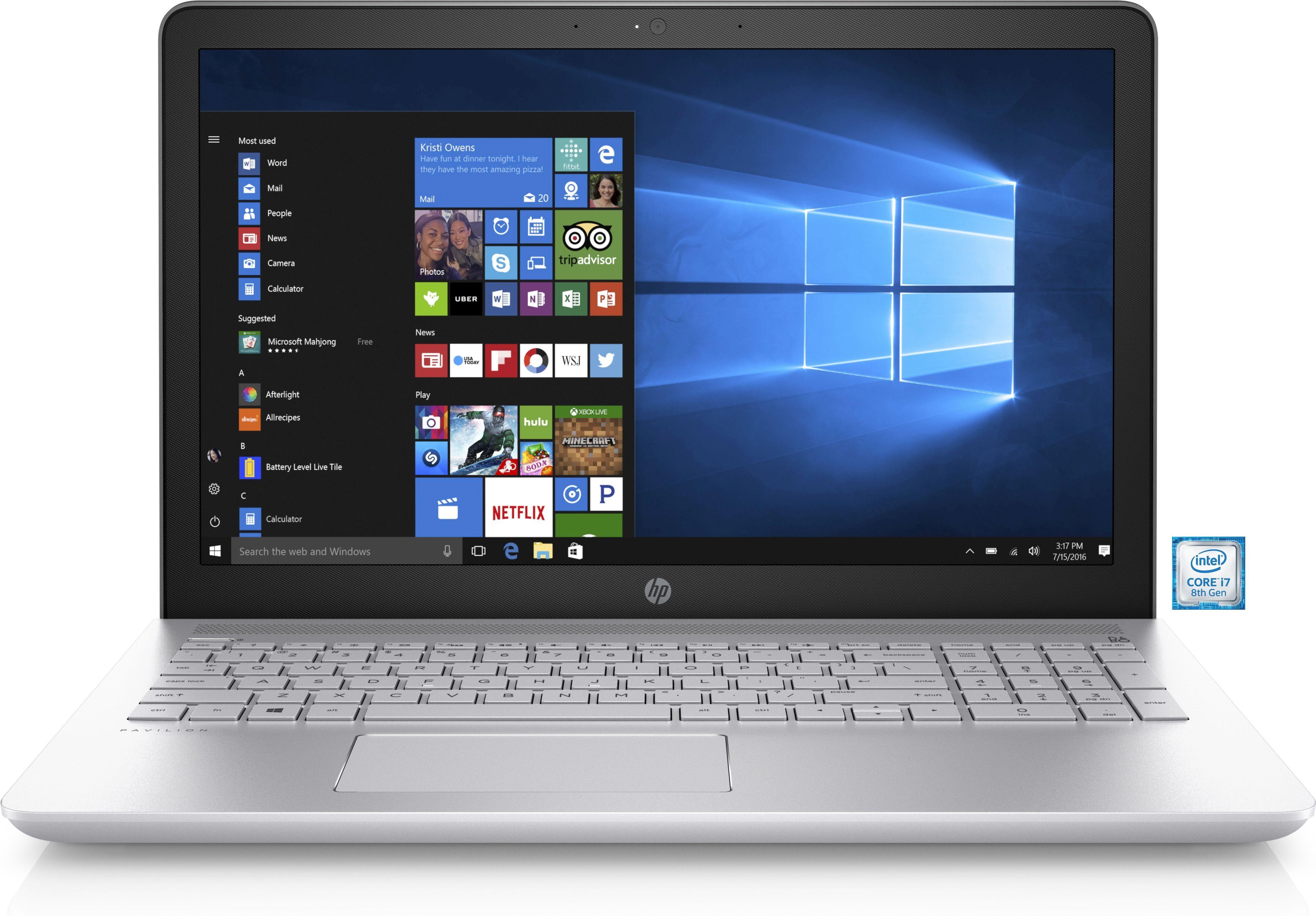 "HP Pavilion 15-cc108ng Notebook »Intel Core i7, 39,6 cm (15,6""), 256 GB, 8 GB«"