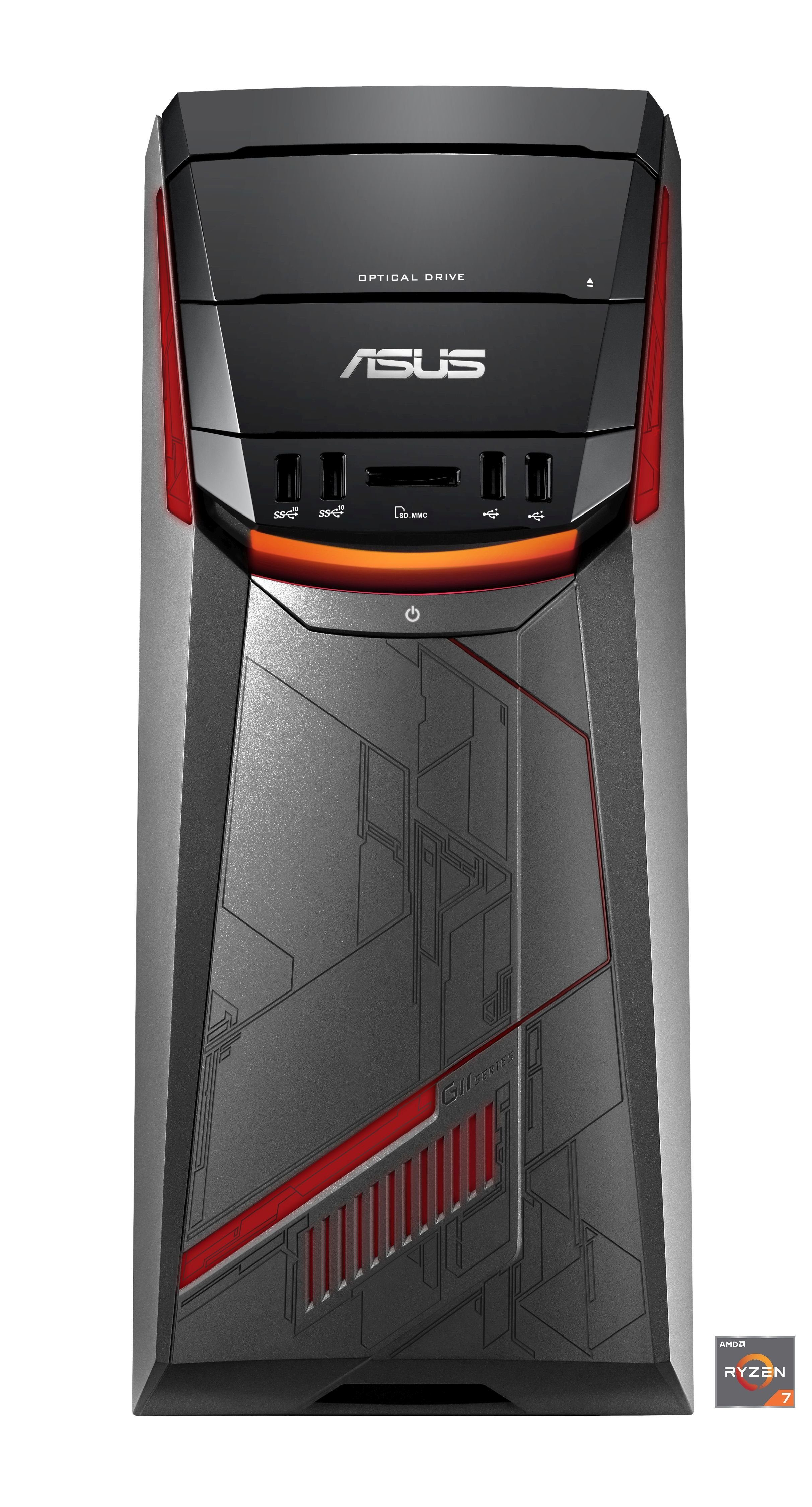 ASUS G11DF-DE015T Gaming-PC »AMD 8-Core, GTX 1070, 256 GB SSD + 1 TB HDD, 8 GB«