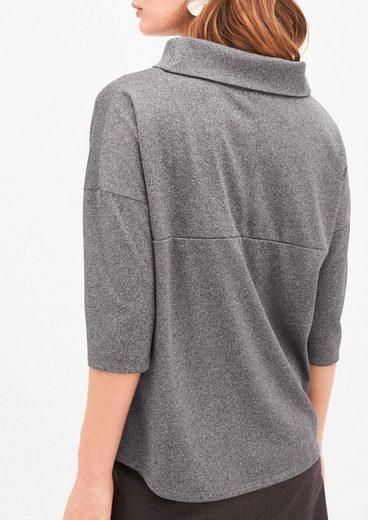 s.Oliver BLACK LABEL T-Shirt mit Oversize-Schnitt