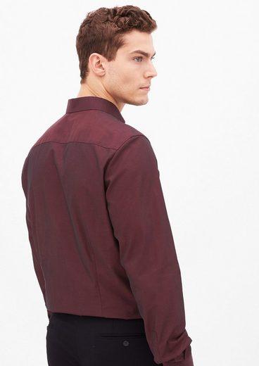 s.Oliver BLACK LABEL Slim: Hemd mit Schimmer