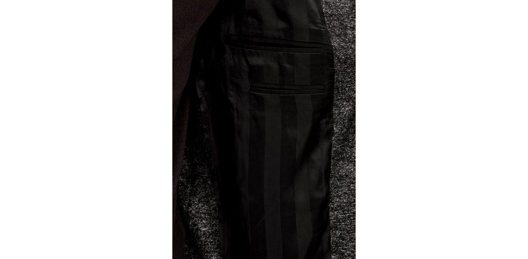 s.Oliver BLACK LABEL Napoli Slim: Sakko mit Schurwolle Günstige Preise Authentisch Rabatt Exklusiv Footaction Online-Verkauf Billig Verkauf Niedrig Versandkosten Spielraum Niedrigen Preis Versandgebühr d7EmFGj