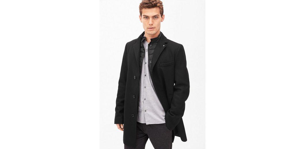 s.Oliver BLACK LABEL Slim Fit: Eleganter Wollmantel