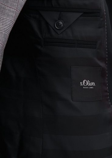 s.Oliver BLACK LABEL Fusion Suit: Anzugsakko aus Jersey