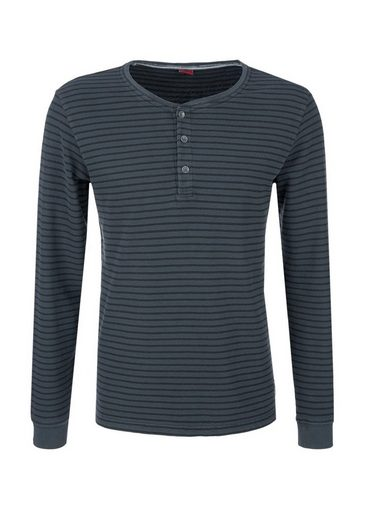 s.Oliver RED LABEL Longsleeve-Shirt mit Streifenmuster