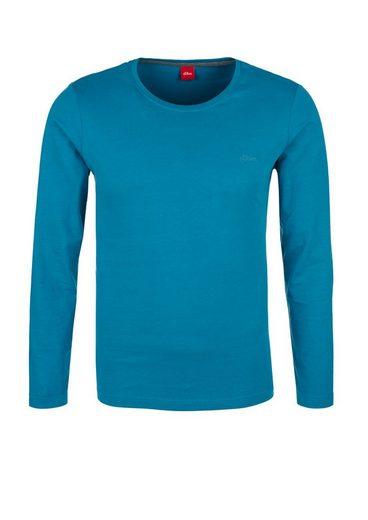 s.Oliver RED LABEL Schmales Jersey-Longsleeve