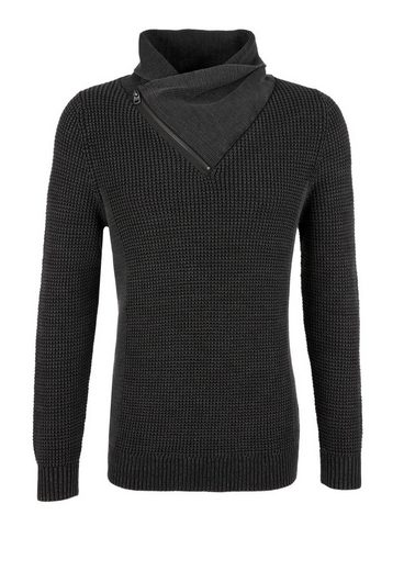 S.oliver Red Label Garment Dye-pulli Mit Turtleneck