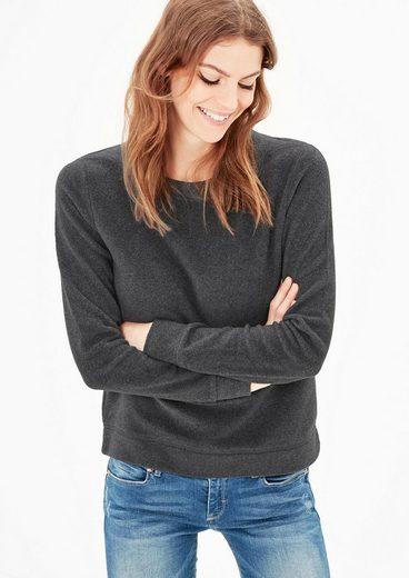 s.Oliver RED LABEL Flauschiges Sweatshirt