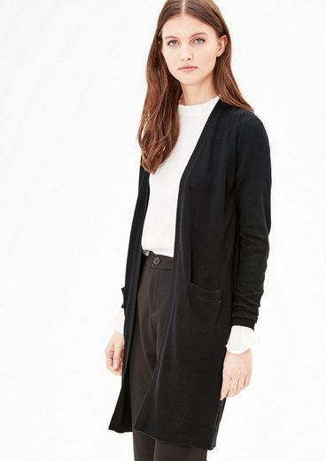 s.Oliver RED LABEL Long-Cardigan aus Feinstrick