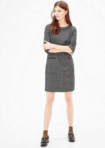 S.oliver Red Label Dress With Glencheck-pattern