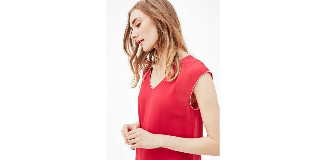 Angebote Günstiger Preis s.Oliver RED LABEL Blusenshirt im Layer-Look Preiswerte Qualität Geringster Preis jYCXc
