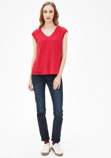 S.oliver Red Label Blusenshirt Im Layer-look