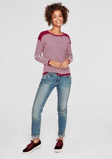 s.Oliver RED LABEL Softer Feinstrick-Pullover