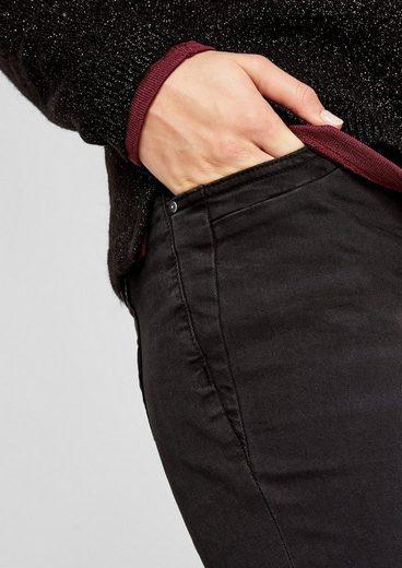 s.Oliver RED LABEL Shape Slim: Stretchige Twillhose