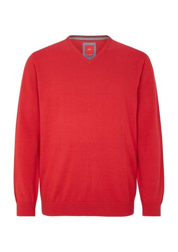 s.Oliver RED LABEL klassischer V-Neck-Pullover