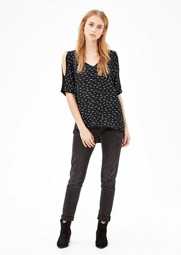s.Oliver RED LABEL Blusenshirt mit Cut-Outs