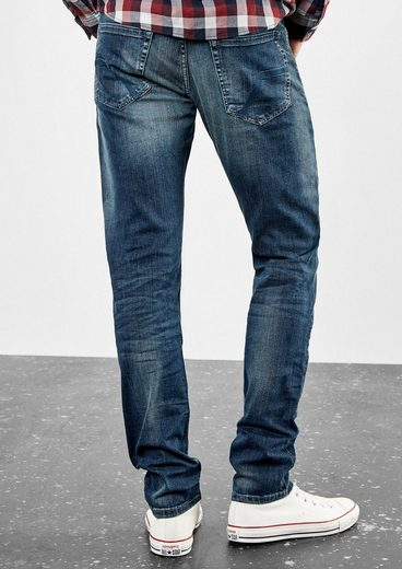 Q/S designed by Rick Slim: Jeans mit Waschung