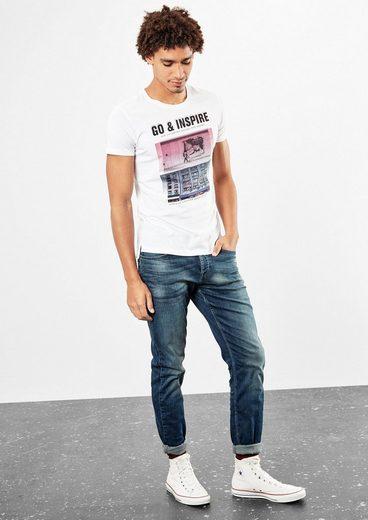 Q/s Designed By Jerseyshirt Mit Fotoprint