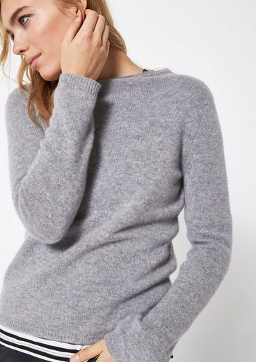 Comma Fine Trick Sweater With Fine Details