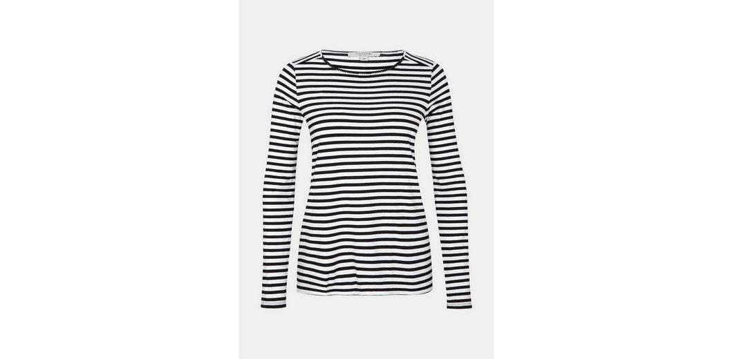Billig Verkauf Neue Stile COMMA Jersey-Longsleeve mit schönem Two-Tone Musterspiel Billig Verkauf Angebote Die Günstigste Online Auslass Amazon uMR23KA