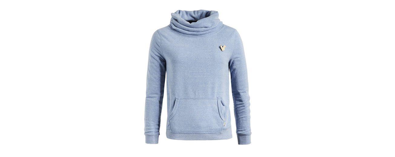 khujo Sweatshirt PEPINE, mit Kängurutasche