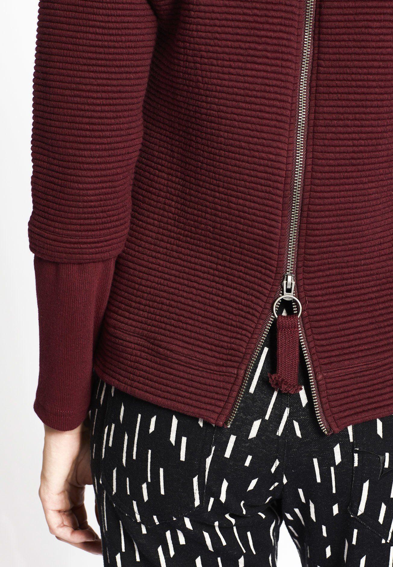 Khujo Online Am Rücken »elida« Kapuzensweatshirt Mit Reißverschluss Kaufen W9IYDHEe2b
